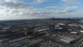 Εναέρια άποψη που πετά προς Philadelphi Στοκ Φωτογραφία