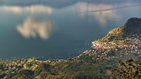 Εναέρια άποψη σχετικά με τη λίμνη στοκ εικόνα με δικαίωμα ελεύθερης χρήσης