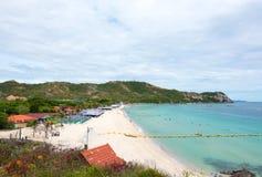 Εναέρια άποψη σχετικά με Koh το νησί Larn στοκ εικόνες