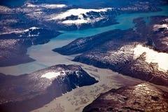 Εναέρια άποψη της Ανταρκτικής Στοκ εικόνες με δικαίωμα ελεύθερης χρήσης