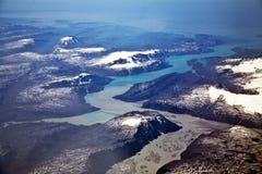 Εναέρια άποψη της Ανταρκτικής Στοκ φωτογραφίες με δικαίωμα ελεύθερης χρήσης