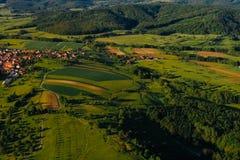 Εναέρια άποψη της Βαυαρίας, Γερμανία στοκ φωτογραφία με δικαίωμα ελεύθερης χρήσης