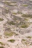 Εναέρια άποψη της θάλασσας της άμμου μέσα Caldera Bromo Tengger Στοκ εικόνα με δικαίωμα ελεύθερης χρήσης