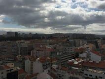 Εναέρια άποψη της Λισσαβώνας, Πορτογαλία στοκ εικόνες