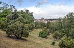 Εναέρια άποψη της Μαδρίτης Στοκ εικόνα με δικαίωμα ελεύθερης χρήσης