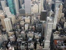 Εναέρια άποψη της Νέας Υόρκης Στοκ εικόνα με δικαίωμα ελεύθερης χρήσης
