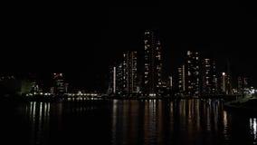 Εναέρια άποψη της νύχτας Τόκιο φιλμ μικρού μήκους