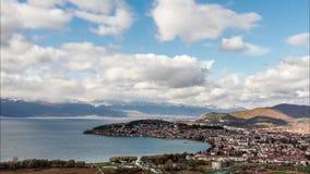 Εναέρια άποψη της Οχρίδας, Μακεδονία φιλμ μικρού μήκους