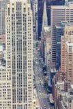 Εναέρια άποψη της Πέμπτης Λεωφόρος NYC Στοκ Φωτογραφία