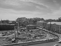 Εναέρια άποψη της πανεπιστημιούπολης Πανεπιστημίου της Πενσιλβάνια Στοκ φωτογραφία με δικαίωμα ελεύθερης χρήσης