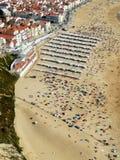Nazare Πορτογαλία Στοκ Φωτογραφίες
