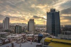 Εναέρια άποψη της πρωτεύουσας της Τουρκίας Η Άγκυρα είναι η πρωτεύουσα της Τουρκίας, επιχειρησιακή πόλη Στοκ Εικόνα