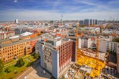 Εναέρια άποψη της πόλης του Βερολίνου στοκ εικόνες με δικαίωμα ελεύθερης χρήσης
