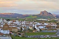 Εναέρια άποψη της πόλης Antequera, Ανδαλουσία Στοκ Εικόνα
