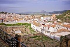 Εναέρια άποψη της πόλης Antequera, Ανδαλουσία Στοκ Φωτογραφίες