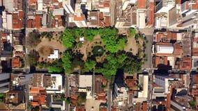 Εναέρια άποψη της πόλης Ribeirao Preto στο Σάο Πάολο, Βραζιλία απόθεμα βίντεο