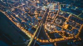 Εναέρια άποψη της πόλης Zhubei Στοκ Φωτογραφία