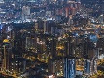 Εναέρια άποψη της πόλης Zhubei Στοκ εικόνα με δικαίωμα ελεύθερης χρήσης
