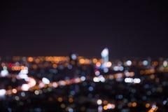 Εναέρια άποψη της πόλης της Μπανγκόκ Στοκ Εικόνα