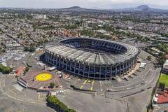 Εναέρια άποψη του γηπέδου ποδοσφαίρου azteca estadio Στοκ Φωτογραφίες