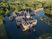Εναέρια άποψη του κάστρου Anholt Στοκ Εικόνες