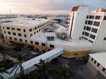 Εναέρια άποψη του κτηρίου κονσερβοποιείων επιδομάτων ανεργίας στοκ εικόνες με δικαίωμα ελεύθερης χρήσης