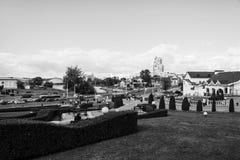 Εναέρια άποψη του Μινσκ, Λευκορωσία Στοκ φωτογραφία με δικαίωμα ελεύθερης χρήσης