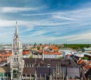Εναέρια άποψη του Μόναχου, Γερμανία Στοκ Εικόνες