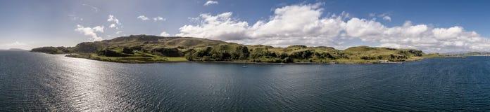 Εναέρια άποψη του νησιού Kerrera, Argyll Στοκ φωτογραφία με δικαίωμα ελεύθερης χρήσης