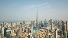 Εναέρια άποψη του Ντουμπάι κεντρικός απόθεμα βίντεο