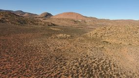 Εναέρια άποψη του ξηρού τοπίου - Νότια Αφρική φιλμ μικρού μήκους