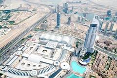 Εναέρια άποψη του ορίζοντα του Ντουμπάι, στοκ φωτογραφία με δικαίωμα ελεύθερης χρήσης