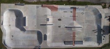 Εναέρια άποψη του πάρκου σαλαχιών στοκ εικόνα