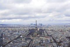 Εναέρια άποψη του Παρισιού Στοκ φωτογραφίες με δικαίωμα ελεύθερης χρήσης