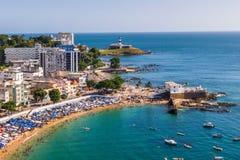 Εναέρια άποψη του Σαλβαδόρ DA Bahia, Βραζιλία στοκ εικόνες με δικαίωμα ελεύθερης χρήσης