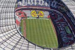 Εναέρια άποψη του σταδίου ποδοσφαίρου azteca estadio Στοκ Φωτογραφίες