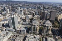 Εναέρια άποψη του στο κέντρο της πόλης Όουκλαντ Καλιφόρνια στοκ φωτογραφίες με δικαίωμα ελεύθερης χρήσης