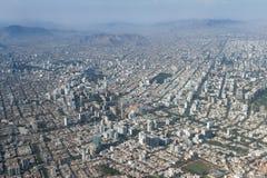 Εναέρια άποψη του της Λίμα Περού Στοκ Φωτογραφία
