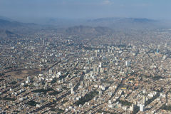 Εναέρια άποψη του της Λίμα Περού Στοκ Φωτογραφίες
