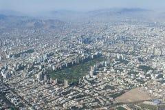Εναέρια άποψη του της Λίμα Περού Στοκ Εικόνες