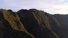 Εναέρια άποψη του υποστηρίγματος Bromo, ανατολική Ιάβα, Ινδονησία φιλμ μικρού μήκους