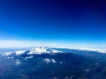 Εναέρια άποψη του υποστηρίγματος Etna στοκ εικόνες