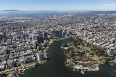 Εναέρια άποψη του Όουκλαντ Καλιφόρνια Στοκ Φωτογραφίες
