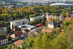 Εναέρια άποψη του Cluj Napoca Στοκ φωτογραφίες με δικαίωμα ελεύθερης χρήσης
