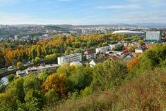 Εναέρια άποψη του Cluj Napoca Στοκ Εικόνες
