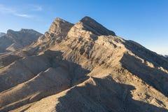Εναέρια άποψη των βουνών κοντά στο Λας Βέγκας, Νεβάδα στοκ φωτογραφία με δικαίωμα ελεύθερης χρήσης