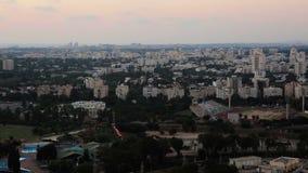 Εναέρια άποψη των γειτονιών του βόρειου Τελ Αβίβ απόθεμα βίντεο
