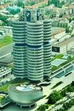 Εναέρια άποψη των κτηρίων της BMW Στοκ εικόνα με δικαίωμα ελεύθερης χρήσης