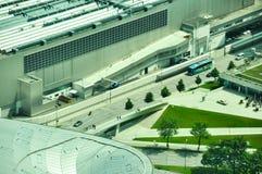 Εναέρια άποψη των κτηρίων της BMW Στοκ Φωτογραφίες