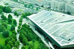 Εναέρια άποψη των κτηρίων της BMW Στοκ Εικόνα